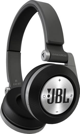 JBL Harman Bluetooth® HiFi Kopfhörer E40BT, schwarz