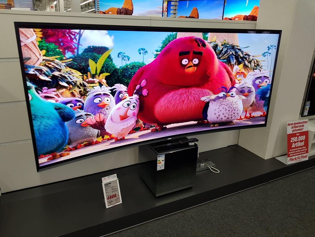 Samsung UE82S9WAQ 21:9 Premium Fernseher (10bit,HDR,100Hz,Quantum Dot) (Mediamarkt Nordhorn, bundesweiter Versand möglich)
