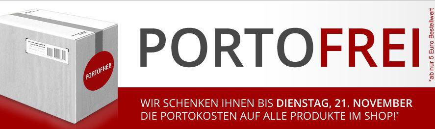 Druckerzubehör.de - Ab 5 € keine Versandkosten bis zum 21.11