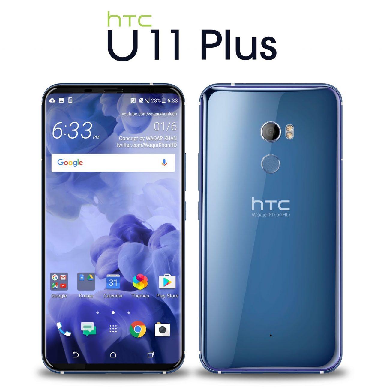 Das neue HTC U11 + für 719,00 € , Vertrieb exklusiv über den HTC Online Shop (Kostenlose Mitgliedschaft im HTC Club erforderlich)