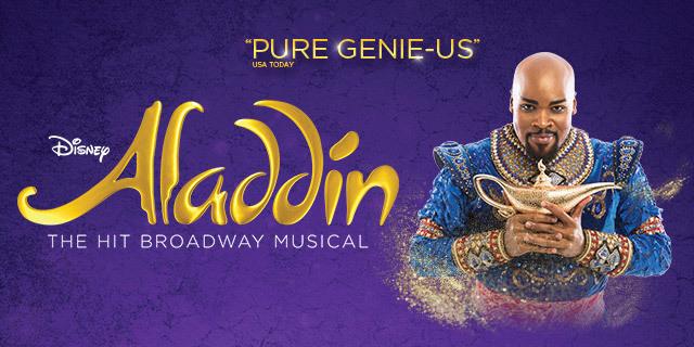 Stage Musical Eintrittskarten Aladdin für 2 Personen ab 101,50 Euro