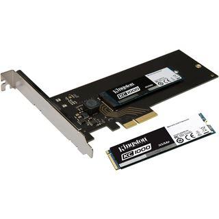 Kingston 250GB NVMe SSC (SSD), PCIe 3.0 x4 (SKC1000H/240G)