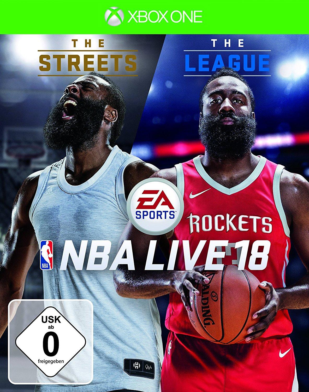 NBA Live 18 The One Edition (Xbox One & PS4) für je 27€ (Media Markt + Amazon Prime)