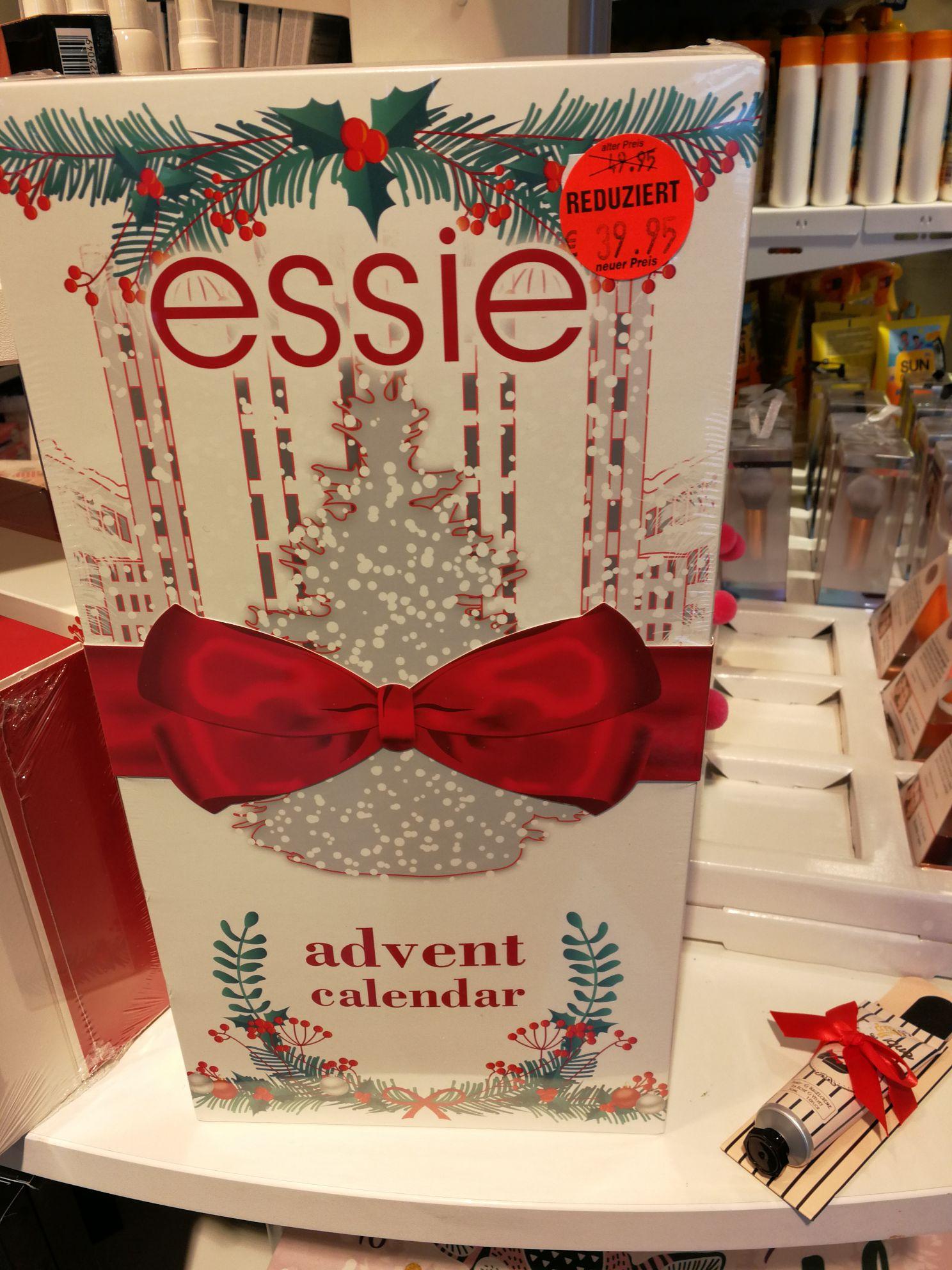 [Lokal Essen + Online] Essie Adventskalender