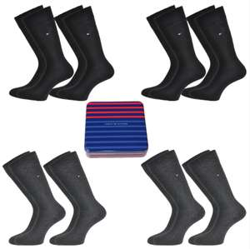 Tommy Hilfiger Classic Business Socken im 8er Pack, jetzt in der Geschenkdose *Update*
