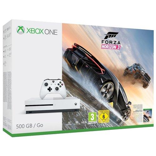 Microsoft Xbox One S 500 GB + Forza Horizon 3 (Als Neukunde für 185,65 Euro)