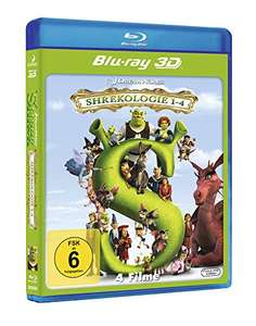 [Amazon] Shrek - Die komplette Geschichte - Quadrilogy [3D Blu-ray]  4 Disks