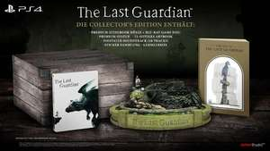 [OFFLINE] The Last Guardian Collectors Edition PS4 Gamestop