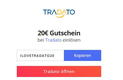 20€ Rabatt bei Tradato.com