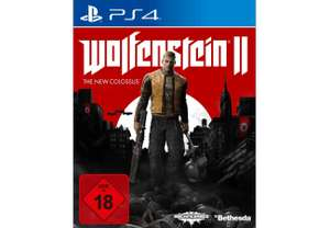 Wolfenstein II : The New Colossus PS4 oder Xbox One + Seagate Game Drive PS4 2TB für 119€ inkl VSK