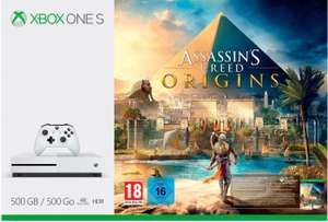 Xbox One S 500GB + Assassin's Creed: Origins für 179€ am 23.11. (Microsoft FR)