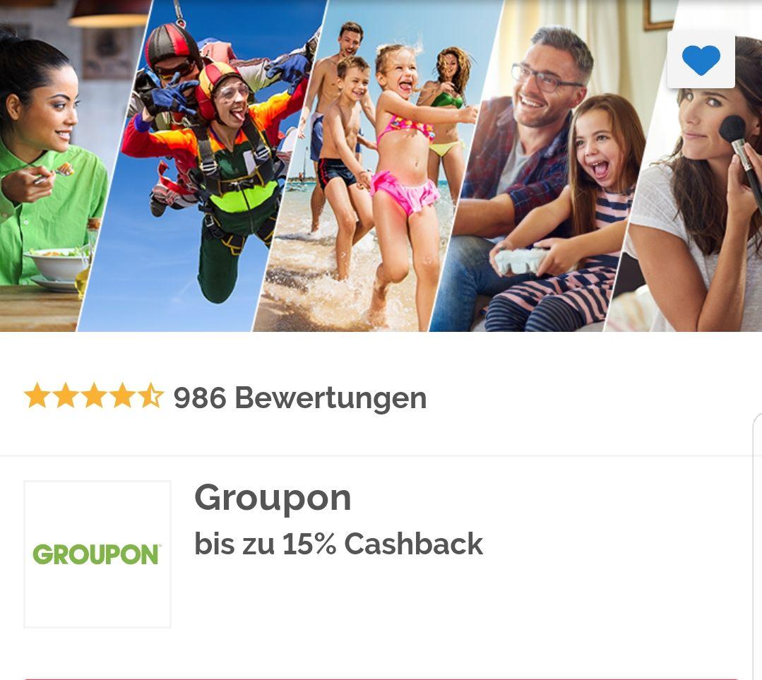 [Shoop] Bis zu 15% Cashback bei Groupon über Shoop.de / (In HH McDonalds bis zu 48%Rabatt) und Deutschlandweit