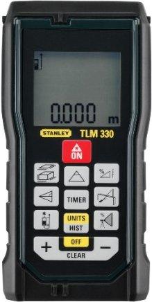 Stanley Laserentfernungsmesser TLM330 Flächenmessung/Volumenmessung/Höhenmessung, Aufbewahrungstasche, STHT1-77140 für 49,99€ [screwfix]