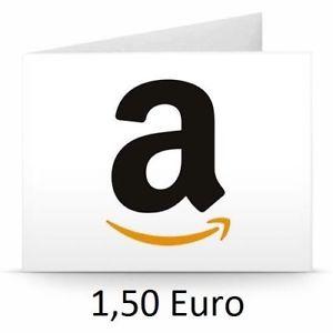 (Ebay) Amazon Gutschein 1,50€ für 1,00€