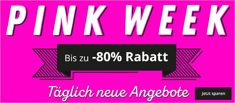 Pinkweek bei windeln.de MONTAG = 20 % Rabatt auf Kindermöbel MBW 100 €