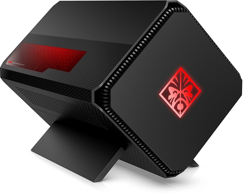 HP Omen GA1-1000ng externes Grafikkarten Gehäuse (Gaming Expansion Box, Barebone, Accelerator, Grafik Erweiterung Laptop, PCIe + SSD, 500 W, schwarz mit Beleuchtung