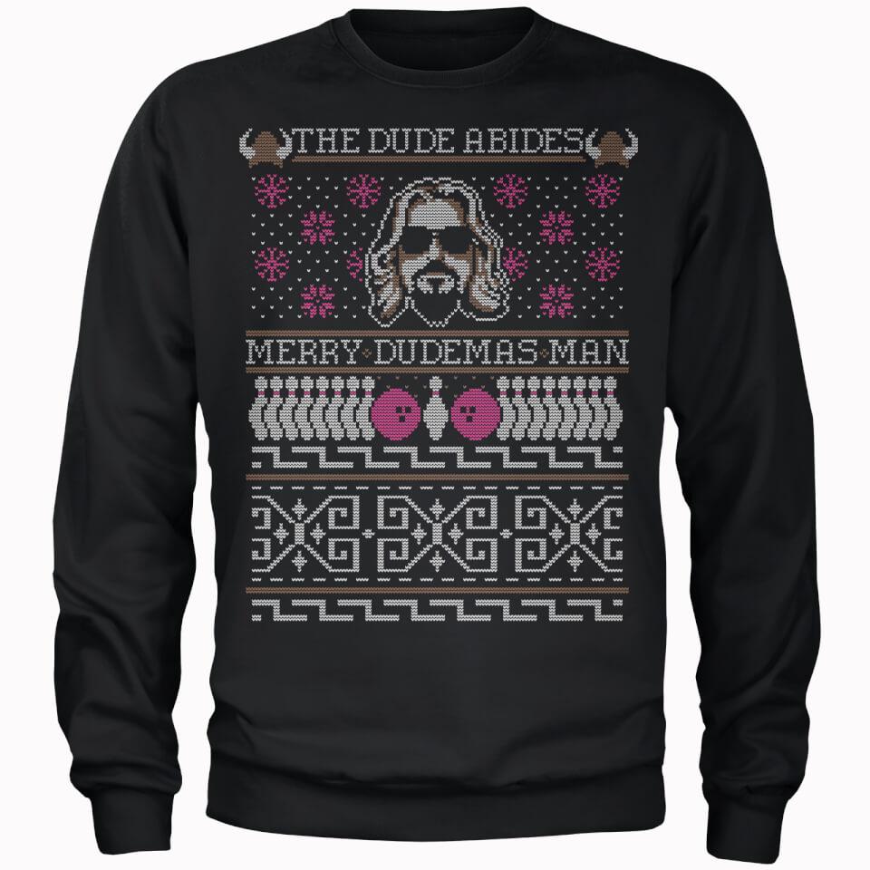 Big Lebowski Christmas Sweatshirt 'Merry Dudemas Man' (und weitere) für 20,98€ @ Zavvi
