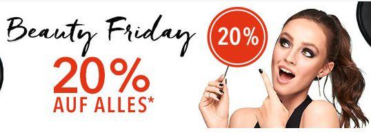 [Douglas Beauty  (Black)Friday vom 24.11 bis 26.11] 20% auf alles  (Ohne MBW) *Nicht auf Reduzierte Ware ,Gutscheinkarten und Bücher