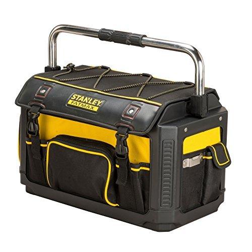 Stanley FatMax Werkzeugtrage / Werkzeugtasche mit Schutzhaube (49x31x28cm, Tasche aus 600 Denier Nylon, wasserdicht und schlagfest, robuste Trage mit vielen Innentaschen) 37,99€ (Prime-Versand)