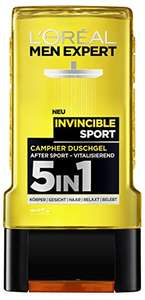 [Amazon] 3x L'Oréal Men Expert Duschgel Invincible Sport