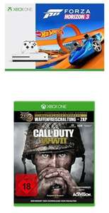 [Amazon-Sammeldeal] Verschiedene XBOX ONE S Bundles z.b. Xbox One S 500GB Konsole - Forza Horizon 3 Hot Wheels Bundle + Call of Duty: WWII