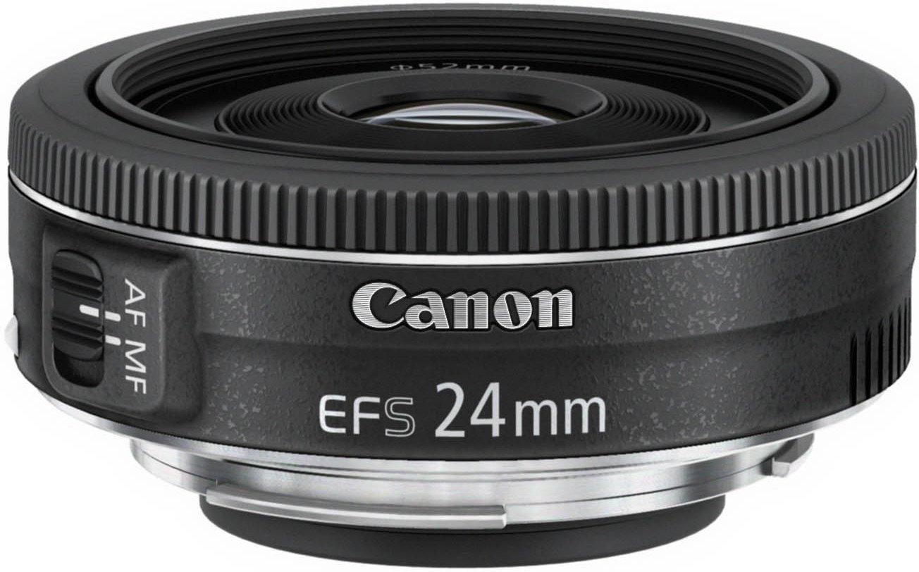 [amazon.es]  Canon EF-S 24 mm 1:2.8 STM Pancake Objektiv (APS-C) schwarz