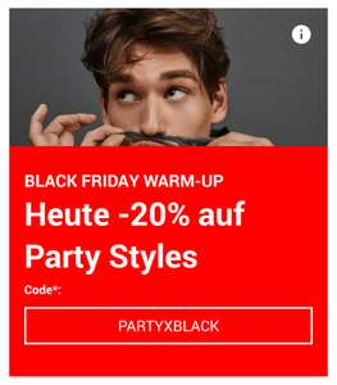"""20% auf """"Party-Styles"""" bei Zalando (auch Fossil-Uhren, Adidas-Schuhe, Levis-Schuhe u.v.m)"""