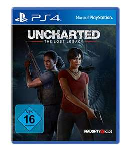 Game Uncharted: The Lost Legacy - [PlayStation 4] für 19 Euro