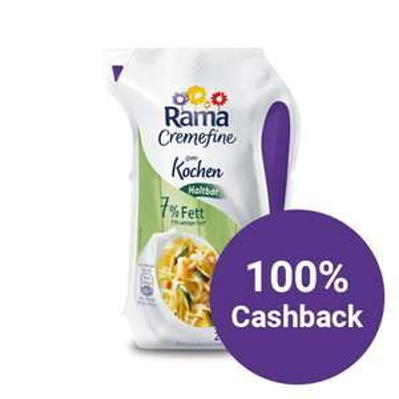 Rama Cremefine Haltbar - 100% Geld zurück über reebate