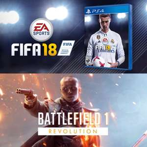 [Gamestop] Fifa 18 PS4/Xbox One je 39,99 € & Battlefield Revolution PS4/Xbox One für 24,99 €