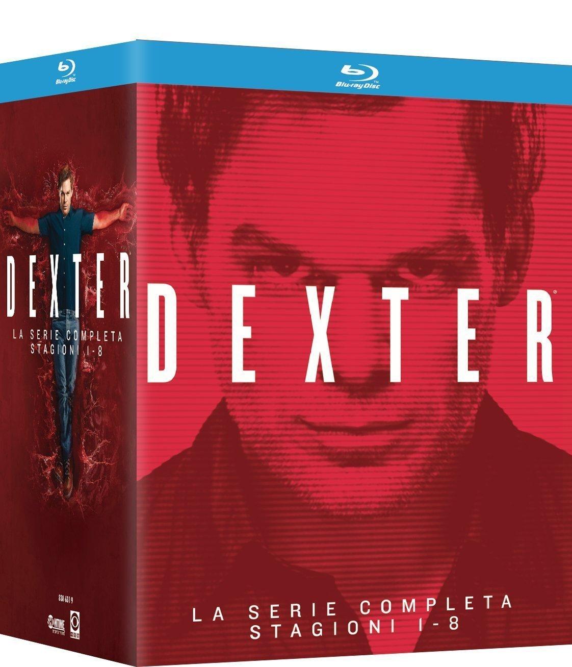 Blu-ray Box - Dexter: Die komplette Serie (33 Discs) für €35,11 [@Amazon.it]