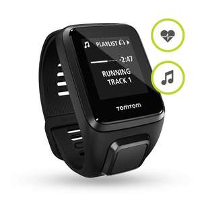 (b4f) TomTom GPS-Fitnessuhr Spark 3 Cardio + Music
