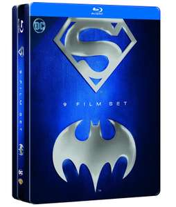 [Amazon.it] Superman/Batman Anthology Steelbook 9 Blurays ... nur heute