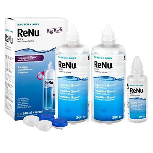 Big Box! Bausch & Lomb ReNu Kontaktlinsenpflegemittel