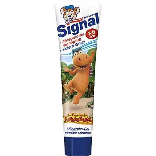 [AMAZON PRIME] verschiedene Zahnpflegeprodukte z.B. 3 x Signal Milchzahn-Gel Zahnpasta, 3er Pack (3 x 50 ml)