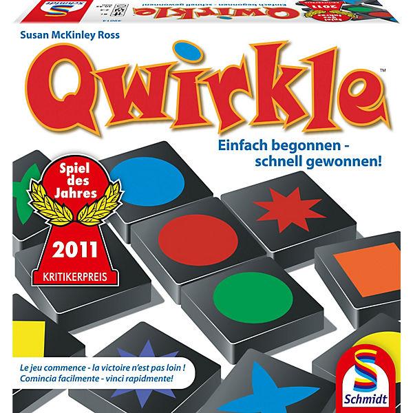 Qwirkle - Gesellschaftsspiel von Schmidt Spiele - Spiel des Jahres 2011
