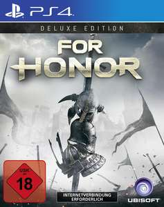 For Honor Deluxe Edition (PS4/Xbox One) für 16,99€ (GameStop)