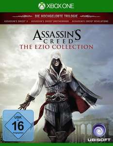 Assassin's Creed: The Ezio Collection (Xbox One & PS4) für je 19,99€ (GameStop)