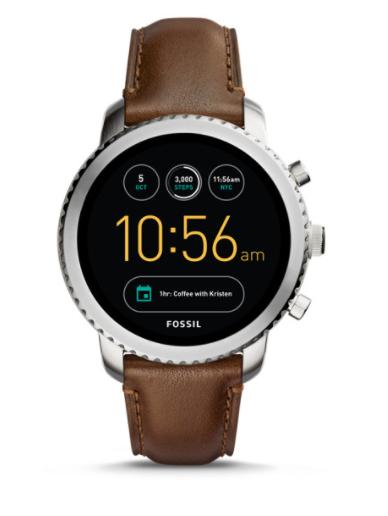 30% Rabatt auf reguläre Ware + gratis Versand, z.B. Smartwatch Fossil Q Control 3.Gen für 209,30€, Q Explorist 3.Gen für 195,30€