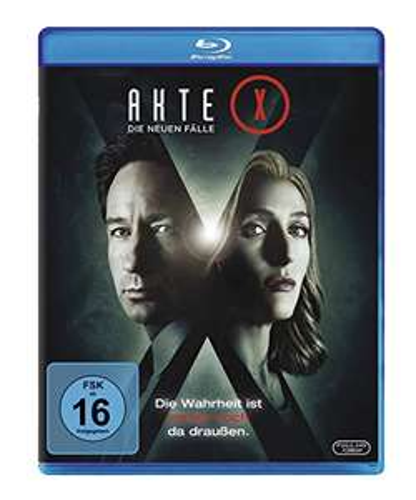 Akte X - Die neuen Fälle [Blu-ray] für nur 10,21€ bei [Amazon Prime]