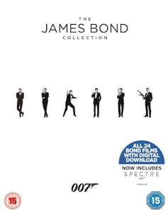 James Bond Collection (24x Blu-ray + Digitale Kopie) für 47,20€ (Zavvi)