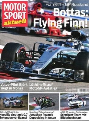 Motorsport aktuell Abo (50 Ausgaben) zum Festpreis von 24,95€
