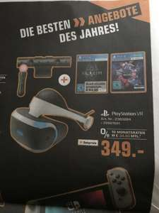 [Lokal] Saturn Jena auch Online aber nur im Markt abholbar - PlayStation 4 Virtual Reality + Camera + Move Twin Pack + VR Worlds + Skyrim VR