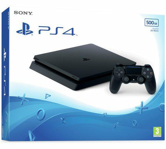 Playstation 4 Slim 500gb Black und White(+VSK) mit eBay Gutschein