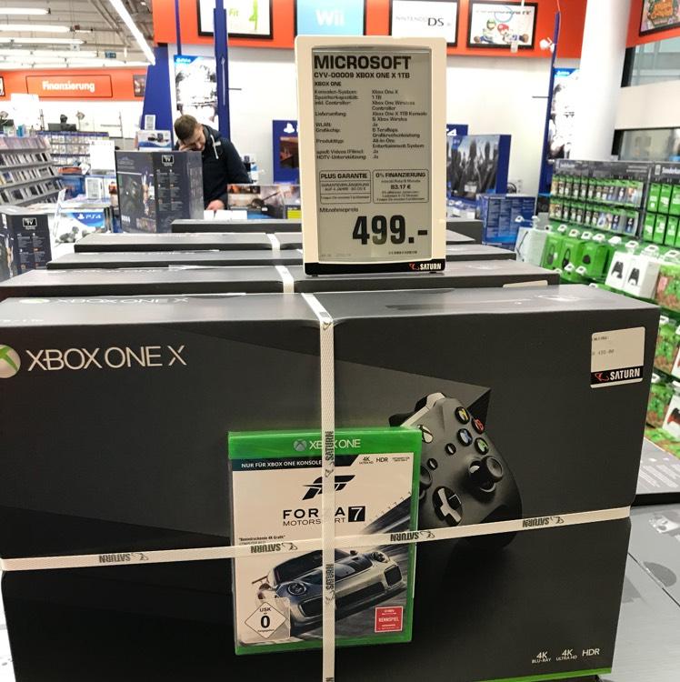 XBOX ONE X MIT FORZA 7