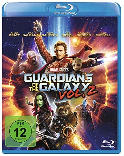 Guardians of the Galaxy 2 (Blu-ray) für 12,97€ (Amazon Prime + Dodax)