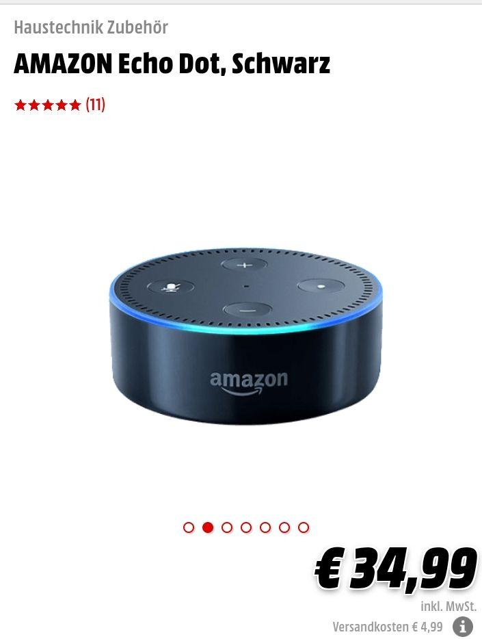 Amazon Echo Dot bei Mediamarkt (auch lokal)