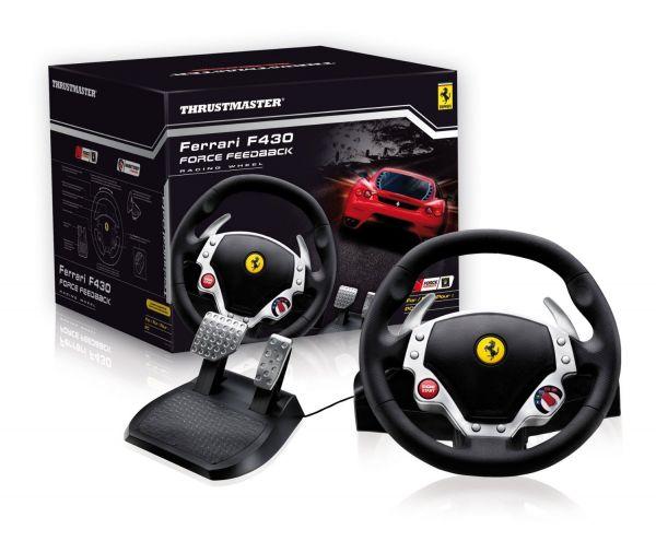 Thrustmaster Ferrari F430 Force Feedback Racing Wheel für PC