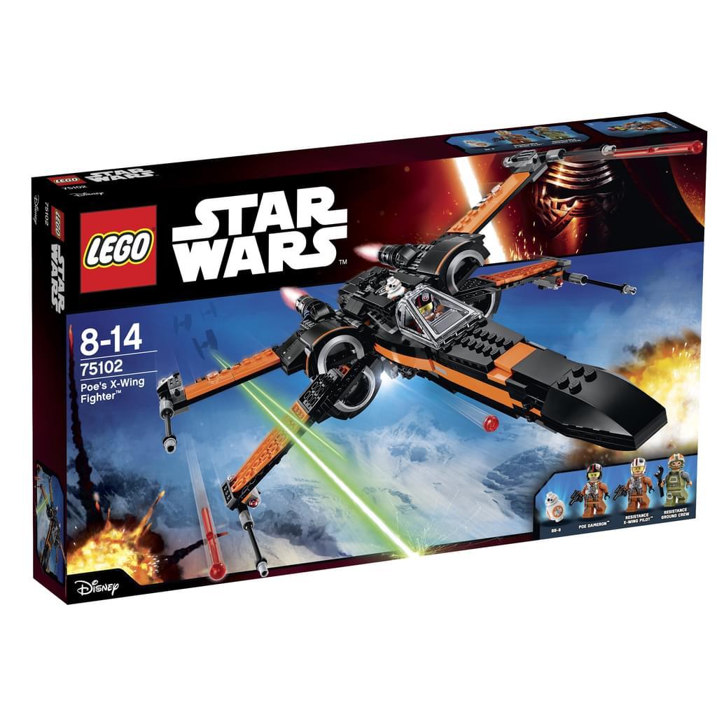 LEGO Star Wars 75102 Poes X-Wing Fighter für 59,93€ [Real]