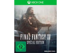 Final Fantasy XV Steelbook Special Edition (Xbox One & PS4) für je 15 (Media Markt + Saturn)
